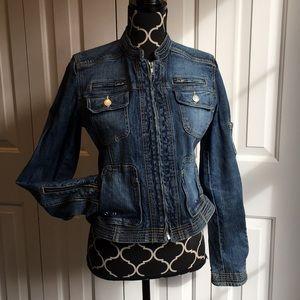 BCBG Max Azaria Jean/ denim jacket